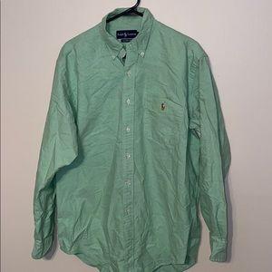 Men's Polo Ralph Lauren Shirt Sz Large